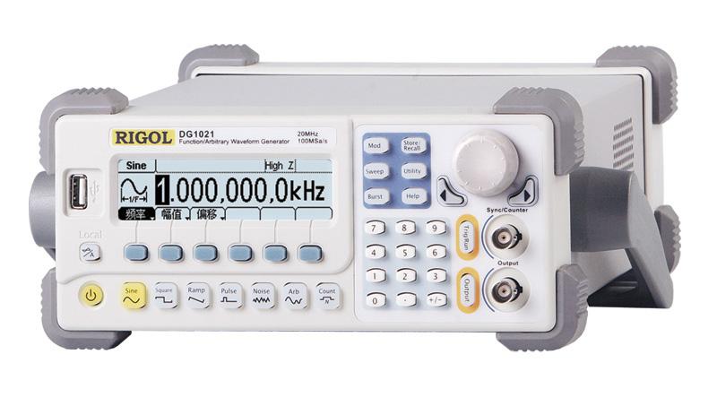函数/任意波形发生器 dg1000系列